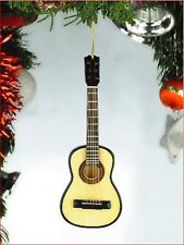"Miniature 5"" Classic String Guitar w/o pick guard Hanging Tree Ornament OG12"