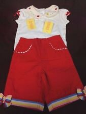 Beautiful Gymboree Infant Girls 2-Piece Bodysuit and Shorts Set for 3-6mo, NWT