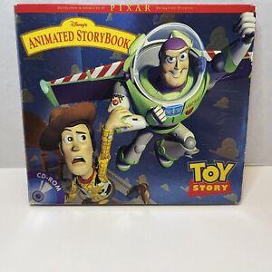 Disney's Toy Story Animated StoryBook (Windows/Mac, 1996) PIXAR CD-ROM PC Game