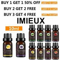 10ml Essential Oil 100% Pure & Natural Aromatherapy Diffuser Therapeutic Grade