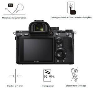 Sony A7 Mark III 0,4 mm Adhäsion Displayschutzglas Schutzfolie LC7685