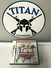 My Farm Around the World CIB (Nintendo DS, 2009) FREE SHIPPING!