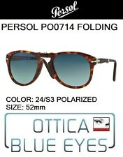 PERSOL 0714 24/S3 52mm polar CUSTOM Sunglasses folding pieghevole steve mcqueen