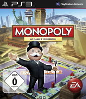 SONY PS3 Monopoly Classic & World Edition PlayStation 3 deutsch OVp gebraucht