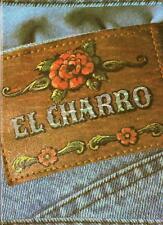 """""""EL CHARRO"""" RARO QUADERNO CARTIERE PIGNA SPECIALE JEANS ANNI 80 NUOVO (PANINARO)"""
