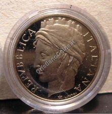 50 Lire 2001  Proof Fondo Specchio