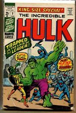 Incredible Hulk #3 King-Size Special! - ''To Live Again'' - 1971 (6) WH