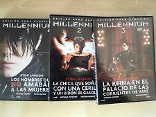 DVD 3 DVD Millennium I,II Y III