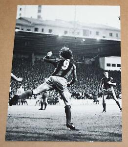FOOTBALL VOETBAL PRESS PHOTO JOHAN CRUYFF EQUIPE TEAM CF BARCELONA LIGA 1973-74