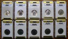 1960 - 1969 P Washington Quarter Decade Set # 00334