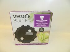 NIB Veggie Bullet Tornado Spiral Blade 5mm Food Processor Blender Nutribullet
