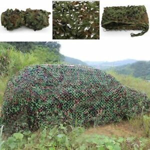 Camouflage Net For Camping Hide Military Hunting Shooting Army Shelter 5 x 1.5 M