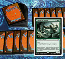mtg GREEN LANDFALL DECK Magic the Gathering rare 60 cards + BFZ ulvenwald hydra