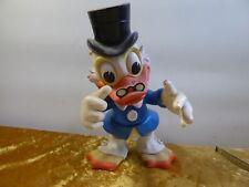 Onkel Dagobert Duck Walt Disney Figur Original Dachbodenfund 60 ger Jahre