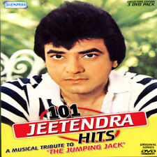 101 Jeetendra Hits (Bollywood Legend) A Musical Tribute To Jumping Jack (3 DvDs)
