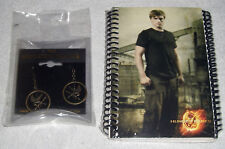 The Hunger Games Earrings & Set of 2 Neca  Memo Notebooks~New In Package