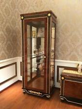 Display Case Wardrobe Glass Cabinets Living Room Look Design Baroque Rococo E69