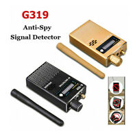 G319 Anti-Spy GPS Signal Lens RF Tracker Hidden Camera GSM SPY Bug Detector