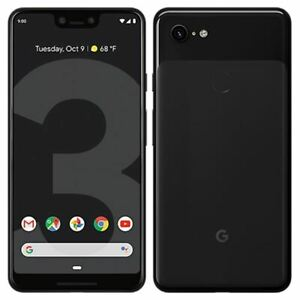 Google Pixel 3 XL - 64GB / 128GB - Unlocked - Black / Pink / White - Smartphone