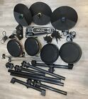 Wii ION ROCK BAND DRUM ROCKER-IEDO9M- Complete And Tested.
