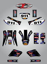 Yamaha TTR 250 -  2006 - 2009 Full custom sticker kit BARBED style decals