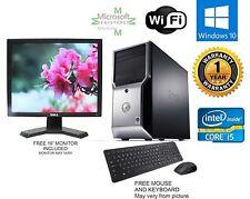 Dell Precision T1500 Computer i5 760 2.80ghz 8gb 500gb SSD Windows 10 64 FX 580