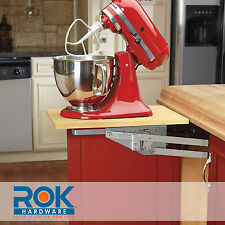 RAS-ML-HDCR  REV-A-SHELF - Heavy-duty Mixer /Appliance lift Mechanism - Chrome