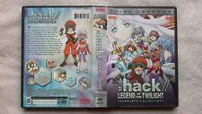 Dot Hack Legend of Twilight COMPLETE COLLECTION Anime Manga RARE R1 DVD BOXSET