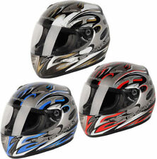 Not Rated Graphic ACU Approved Motorcycle Helmets