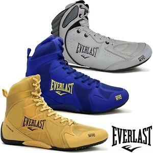 Everlast Boxschuhe Schuhe Ultimate Strike Hi Top Boxerschuhe Boxerstiefel Boxer