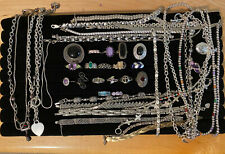Sterling Silver Jewelry Lot/ No Scrap Very Nice