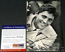 Legendary French Singer SACHA DISTEL Signed Vintage Photo PSA/DNA COA Autograph