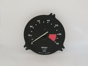 Tachometer Insert Original Smiths Brand Fits Triumph TR7  RVC6419/00