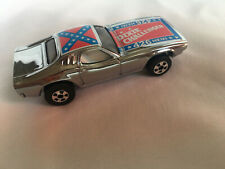 Hot Wheels Blackwall Chrome Dixie Challenger with Flag 40 Years Set