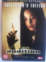 Audition, The Collectors Edition, DVD, 2004, Region Free, Gatefold Box, Tartan