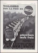 Publicité Per' LUSTUCRU  Pates alimentaire pasta  vintage ad   1933 - 1i