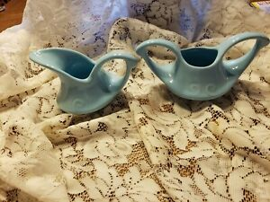 VINTAGE PEARL CHINA, CREAMER AND SUGAR BOWL, AMAZING COLOR