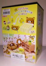 Rilakkuma Relax Room Re-ment Minatures Full Set BRAND NEW UK