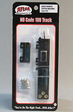 ATLAS HO CODE 100 RIGHT REMOTE SWITCH MACHINE ho train track turn out ATL 53