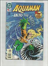 Aquaman #1 (Aug 1994, Dc) 1St Bearded Aquaman! Movie Coming! Excellent !