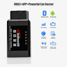 ELM327 OBD2 Bluetooth Car Scanner Android Automotive Code Reader Tool OBDII