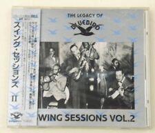 SWING SESSIONS VOL.2 - The legacy of Bluebird - RARE JAPAN CD BMG 1990 W/OBI  NM