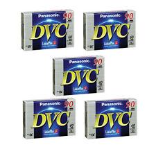 5 Panasonic 90min LP DVM Mini DV Camcorder Tapes For Sony Canon JVC Sharp
