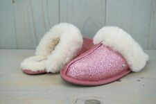 3fe15205ccd UGG SCUFFETTE II SPARKLE GLITTERY PINK 1100177 WOMENS SLIPPERS US 6 new
