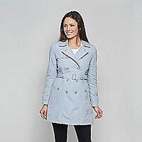 David Barry Womens Light Blue Jacket Coat Ladies UK Size 10 *REF85