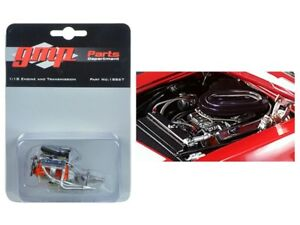 GMP 1/18 Scale Heinrich Chevy-Land Trans Am Camaro 302 Engine and Transmission