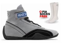 SPARCO RACE PLUS shoes, size 46, Black Grey Sport Racewear Rally +FREE FIA SOCKS