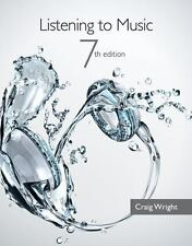 Listening to Music by Craig Wright (2013, Paperback)