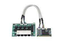 OpenVox B400M 4 Port ISDN BRI Mini-PCI card - Ethernet (RJ-45)