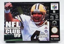 >> Nintendo 64 NFL Quarterback Club 99 >>